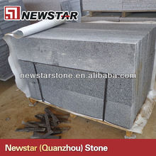 G603 bevel edge granite stairs