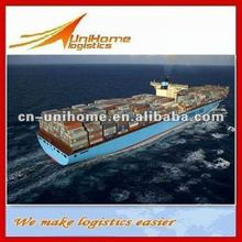 FCL Freight Forwarder from Qingqing to New Castle