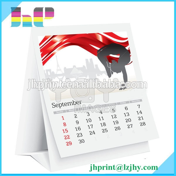 All kinds of calendars fold desk calendar large wall calendar