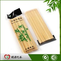 High Quality Barbeque Eco-friendly Heart Shape Bamboo Skewer 15cm
