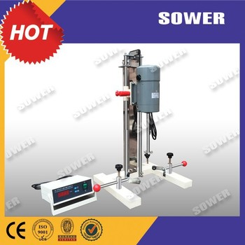High Speed Laboratory Disperser(Quick dispersing dissolving, mixing,fining)