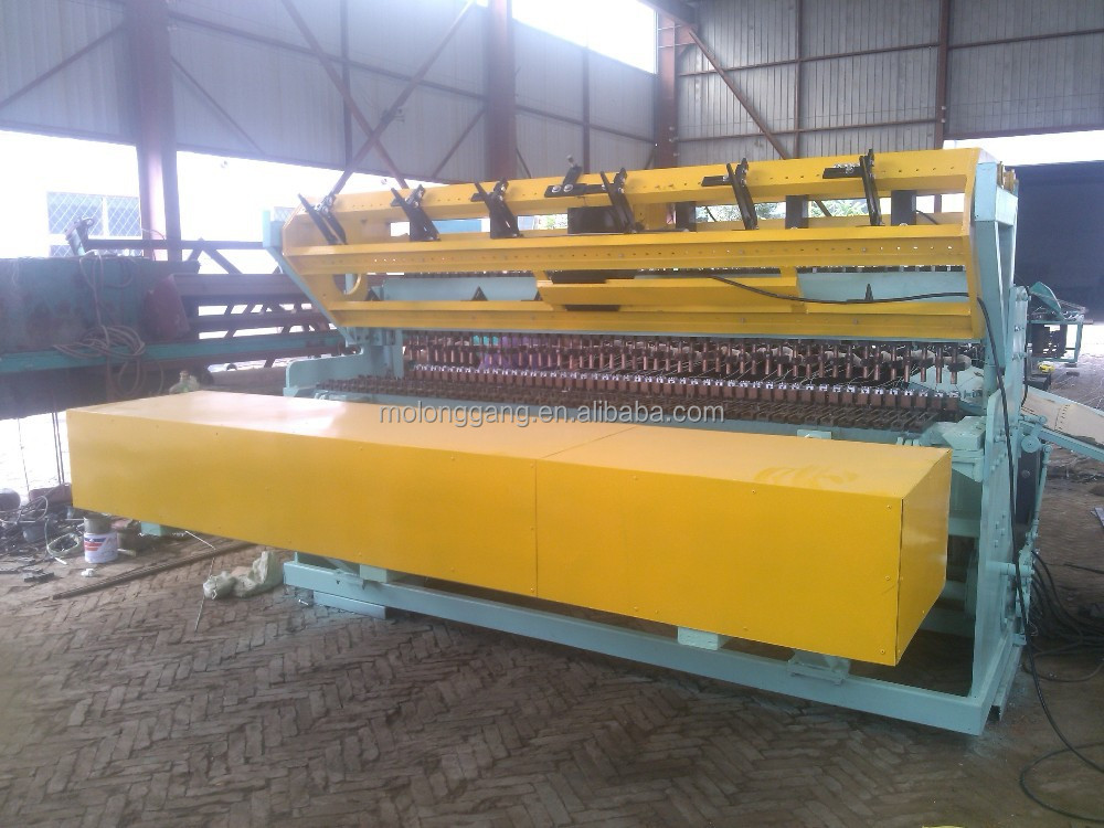 Concrete steel bar mesh welding machine for reinforcing