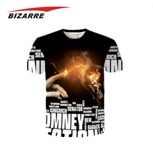Low Moq All Over Digital Sublimation Printing T-Shirt For Man