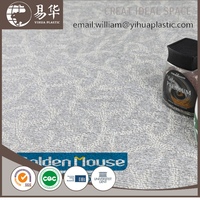 pvc plastic tile with click system,interlocking system vinyl flooring tile,cheap floor tile