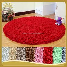 hot sales anti slip bathroom chenille door mat