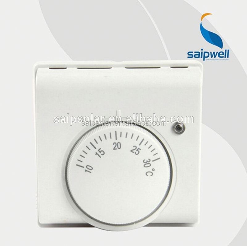 Saip/Saipwell supplier 50Hz 10A 220v opertherm 24hours programming wired room thermostat