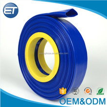 "High pressure flexible pvc lay flat hose 1""-16"" inch discharge agricultural water irrigation sprinkler hose"