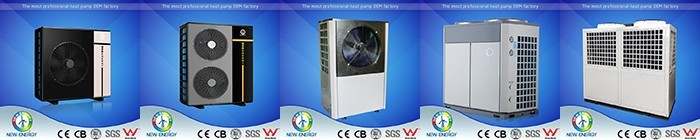 European market used heat pumps for sale Monobloc DC inverter heat pump