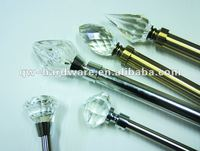 Window Crystal Curtain Pole