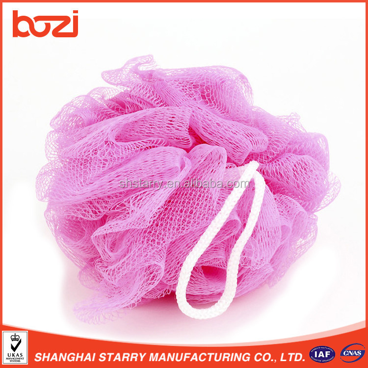 Hot Selling Exfoliating Puff Body Polishing Sponge