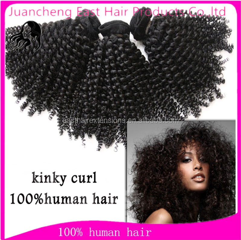 Wholesale best quality afro kinky human hair vendors 100% brazilian hair weave