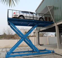 hydraulic scissor lift car lift, scissor lift platform equipment