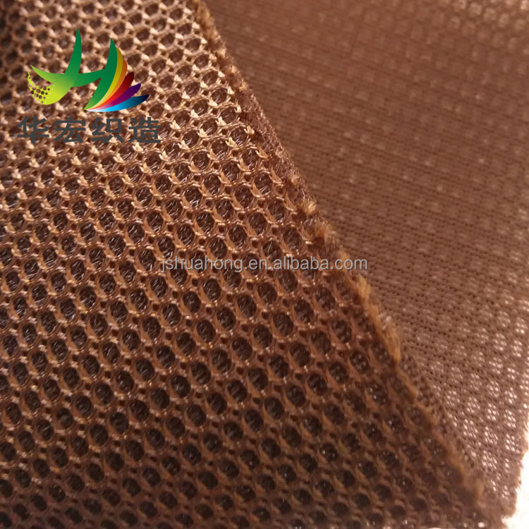 3D air Mesh Fabric the sandwich mesh cloth Polyester knitted fabric shoes Vamp/sportswear/car seat cushions cloth