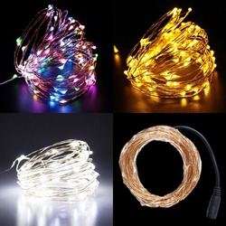 Latest design battery pack exterior led bell Christmas ip65 string lights for bedroom deco