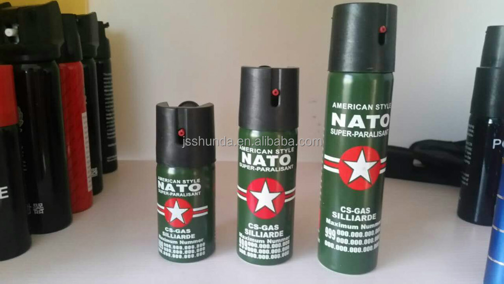 2016 HIGH QUALITY NATO PEPPER SPRAY FOR SELF DEFENSE
