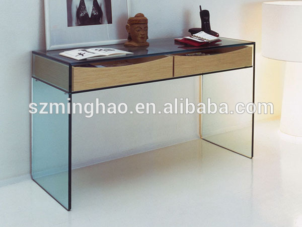 Modern dressing table with mirrors, acrylic Dressers