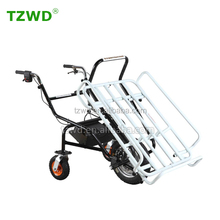 Three wheels electric wheel barrow green wheelbarrow on sale