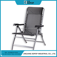 Adjustable Outdoor Furniture Metal folding arm office Zero Gravity chairs
