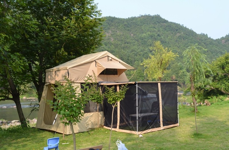 Cool Roof Top Tent Trailer Camper Trailer With Roof Top