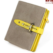Rfid Blocking Security coin Women Purse,ladies wallet,women wallet