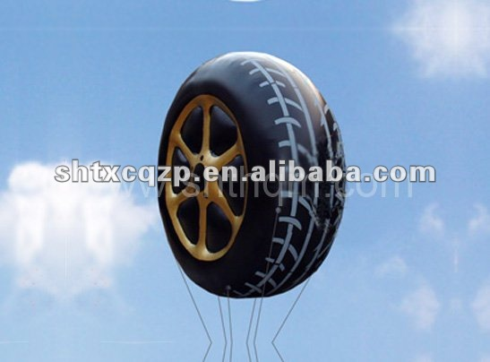 inflatable tire advertising balloon
