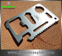 Multi-Function saber card knife, outdoor survival tool