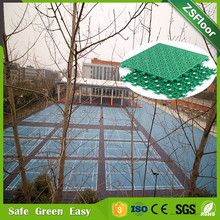 Portable plastic floor covering pp badminton court pp vinyl floor/sports flooring