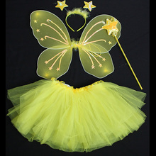 Fashion butterfly fairy wing angel wing and tutu for kids