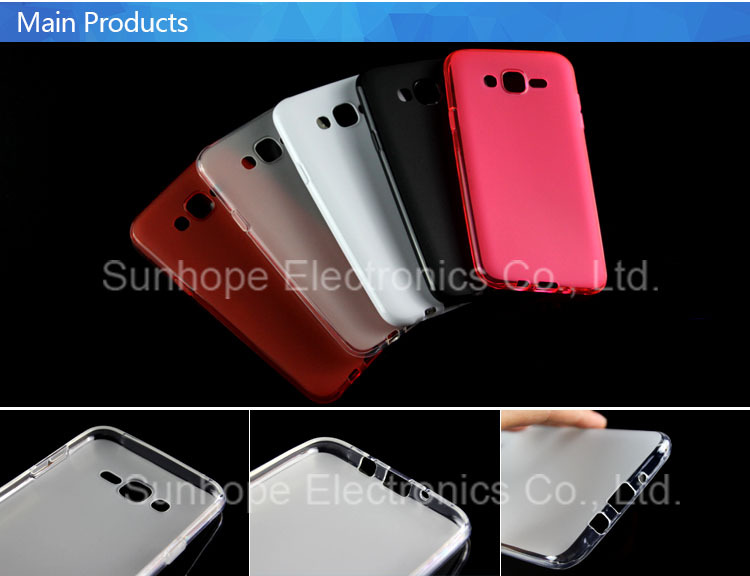 Matte Pudding Soft Gel Case TPU Cover for samsung Galaxy J7 J700