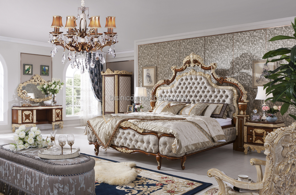 Bedroom Furniture Set Baroque Bed Room Set Buy Luxury Bedroom Set