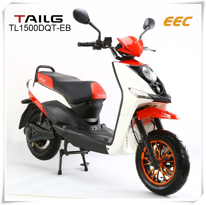 China's electric scooter 1500W/2500W 60V/20Ah electric motorcycle TL1500DQT-EB tailg dirt bike electric moped for sales