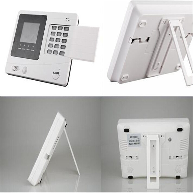 GSM Wireless Home Security gsm intelligentes Alarmsystem Handbuch mit Sprachaufforderung und Gegensprechanlage! (YL-007M2F)