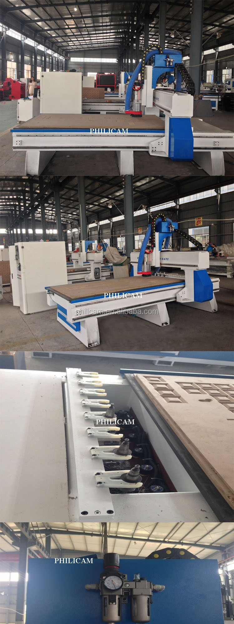 CNC ATC woodworking cnc router cutting engraving machine price for Furniture cabinets