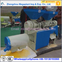agriculture corn maize grits grinding processing plant machine for sale price