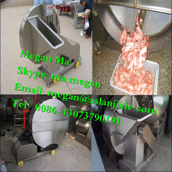 frozen meat flaking machinery/frozen meat flaker/frozen meat flaker machine