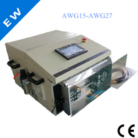 automatic flat/round sheath line computer wire stripping machine cable stripping machine EW-05F