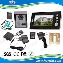 7 inch color cheap wireless home intercom system for home