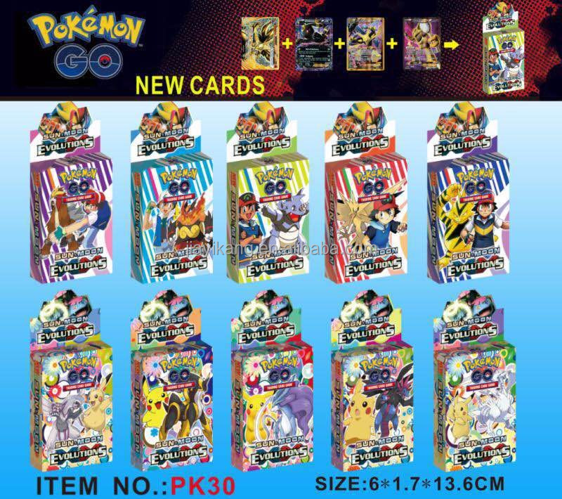 NEW POKEMON TRADING CARD SUN AND MOON EVOLUTIONS