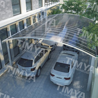 2015 China decorative aluminum double carport