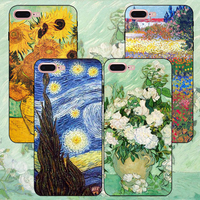 China manufacturer wholesale cell phone customized painting black silicon TPU case for wholesales