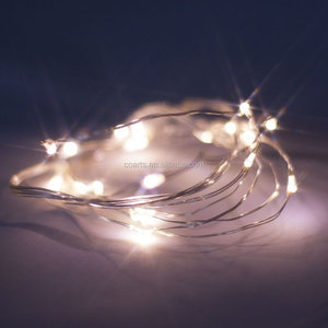 Battery Powered Miniature LED Wire indoor Christmas decorative Lighting with Timer