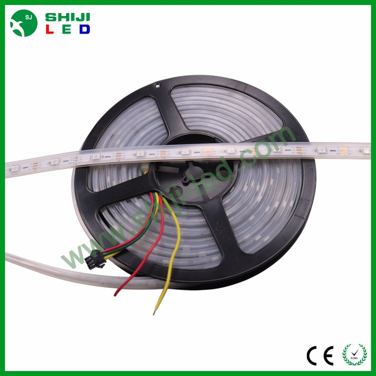 5 v 5mm adresseerbare rgb led pixel waterdichte programmeerbare sk6812 3535 30led strip
