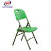 easy carry folding plastic chairs made in China for restaurant