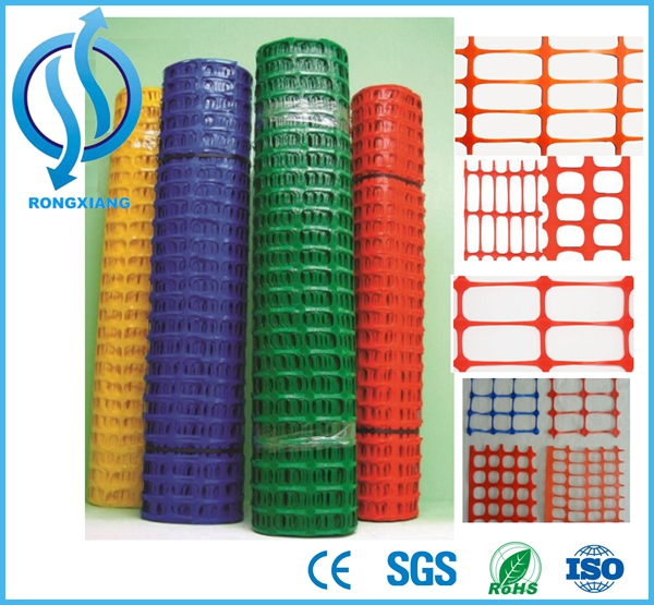 HDPE Orange Plastic Wire Mesh 1.2m Reflective Safety Fence Plastic Mesh
