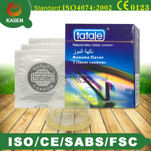 high quality OEM male latex condom with ISO4074 standard CE/SABS certificate
