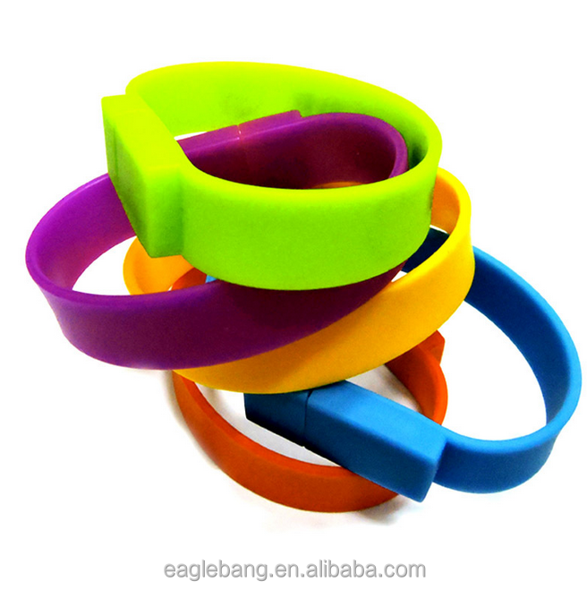 silicone wristbands usb flash drive/usb disk/memory flash wrist band