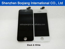 2016 alibaba in spanish lcd for refurbished iphone 5, alibaba express in spanish new products for iphone 5 display
