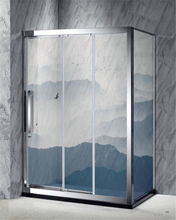 3D digital printing glass Tempered glass shower enclosure shower room