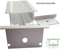 Shenzhen supplier flanged and recessed aluminium led profile for ceiling