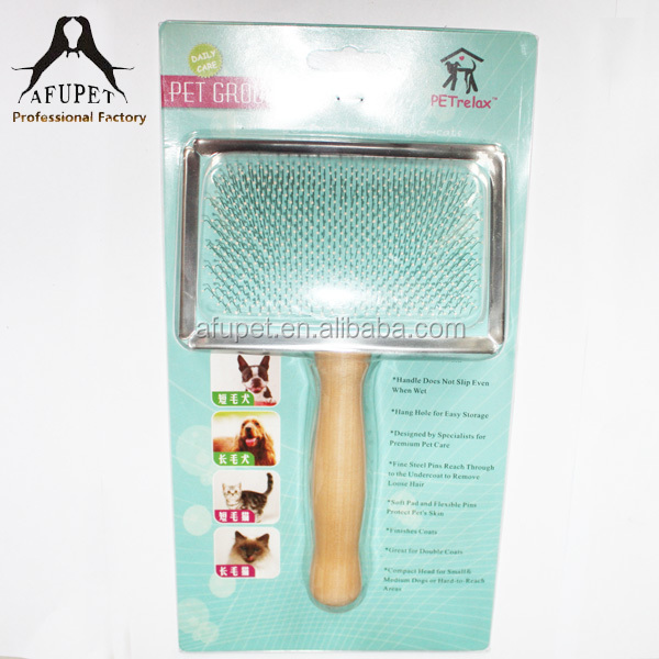 The Best Ecofriendly wooden handle pet comb